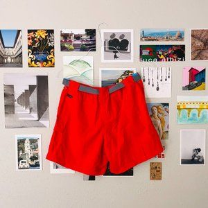 Vintage Fuchsia Columbia Hiking Shorts